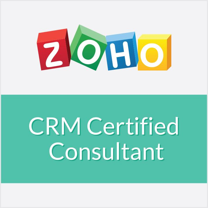 Zoho CRM certified consultant