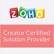 certified Zoho creator solution provider